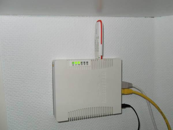 Подключение модема в USB-порт маршрутизатора