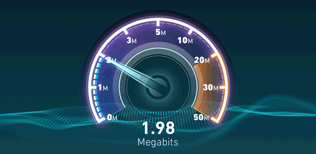 Проверка скорости загрузки и отдачи в гостевой Wi-Fi сети