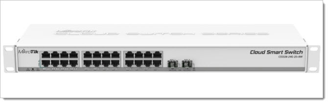MikroTik Cloud Smart Switch CSS326-24G-2S+RM
