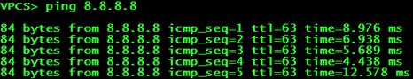 Проверка доступности интернет-ресурсов на PC1