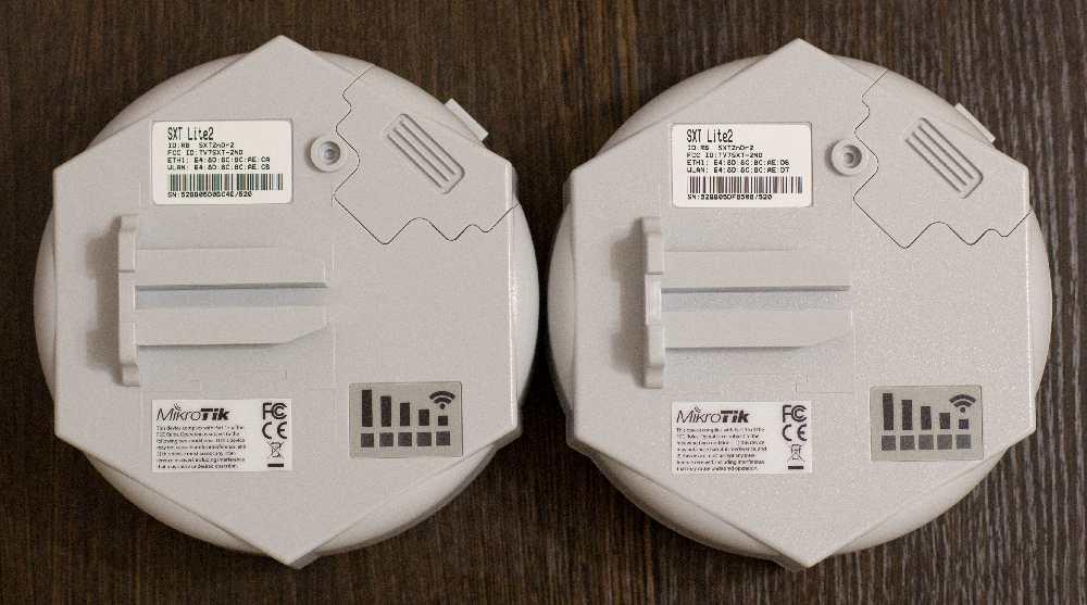 Настройка MikroTik SXT Lite2/Lite точка-точка