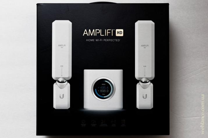 коробка с AmpliFi HD