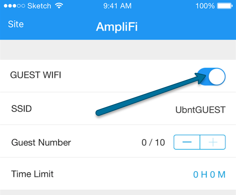 Настройка AmpliFi