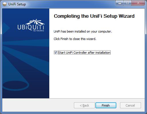 UniFi Controller установка прогрммы для Windows.