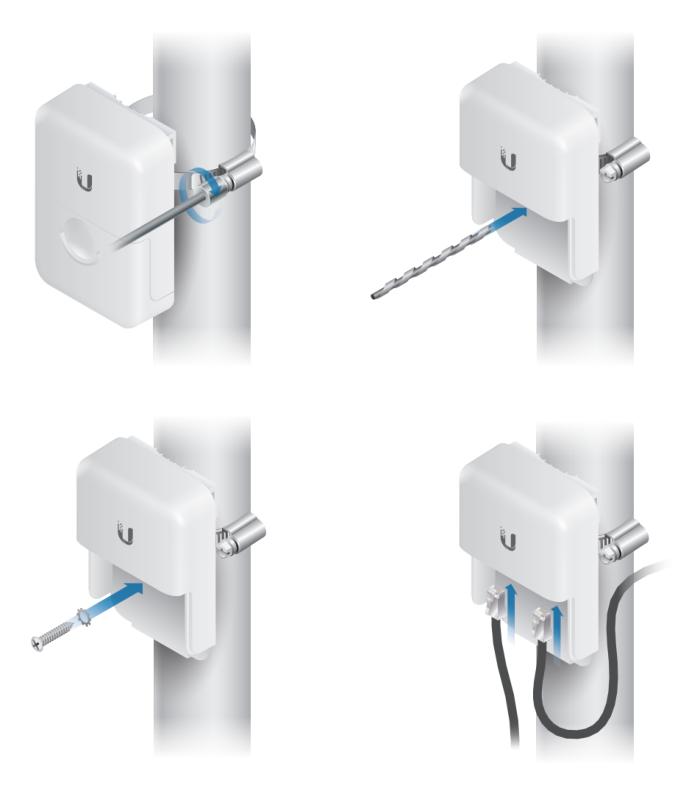Ethernet Surge Protector использование самореза
