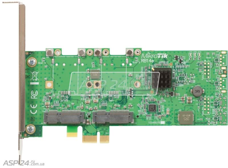 Mikrotik RB14e (Микротик) сетевая карта - купить с доставкой и самовывозом по Москве и России - цены и каталог на сайте — asp24.ru