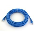 Патч-корд UTP, 3 m, литой, RJ45, Cat.5e, Atcom синий
