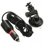 Набор в авто - крепление присоска на стекло и зарядное устройство для экшн камер, CH_1