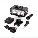 Подводный фонарь GO163 для EKEN, GoPro, XIOMI и др.