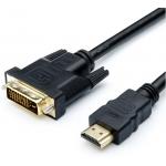 Кабель HDMI DVI 3 m Atcom AT3810