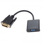 Переходник DVI-D dual link(m)  VGA (f) 0.1 m, AT9214