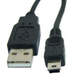Кабель 0.8 m USB(Am) miniUSB AT3793