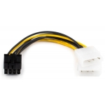Кабель (Video power) 8 pin to 2 molex, AT8604_2