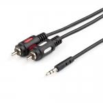 Аудио-кабель 3 м (Jack3.5(m) - 2RCA(m), стерео, пакет), AT0708