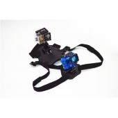 Крепление - ремень для собаки с держателем для камер GoPro, EKEN, GP197