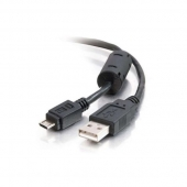 Кабель 0.8 m USB(Am)  microUSB, AT9174
