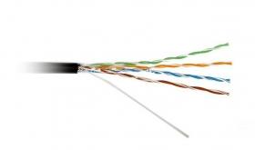 Витая пара UTP cat 5E (CU, 0.5 mm, 305 m) внешняя прокладка PVC+PVE, Atcom AT6414