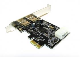 Плата портов USB 3.0 (2 порта USB, PCI-E), AT4939