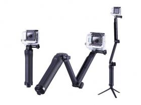 Ручка-монопод+штатив 3-Way для камер EKEN, GoPro, XIOMI и др., GO117