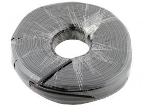 Телефонный кабель 4 жильный (26 awg CCS, 100 m) черный, Atcom AT10120