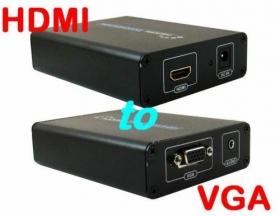 Конвертер HDMI -> VGA (V1009, Box), AT5272