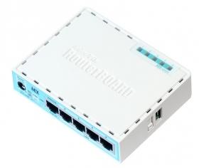 Маршрутизатор MikroTik hEX (RB750Gr3)