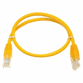 Патч-корд UTP, 1 m, литой, RJ45, Cat.6, Atcom AT3443