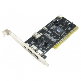Плата портов FireWire 1394 (2+1 порт, VIA chipset, с кабелем, PCI), AT7804